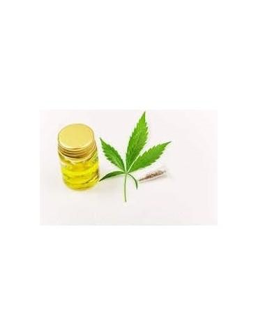Huile Végétale Vierge de Chanvre Biologique (Cannabis sativa)